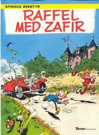 Cover Thumbnail for Spirous äventyr (Nordisk bok, 1984 series) #T-071 [257] - Raffel med Zafir