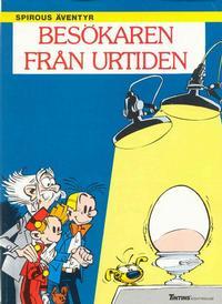 Cover Thumbnail for Spirous äventyr (Nordisk bok, 1984 series) #T-076 [267] - Besökaren från urtiden