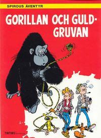 Cover Thumbnail for Spirous äventyr (Nordisk bok, 1984 series) #T-086 [276] - Gorillan och guldgruvan