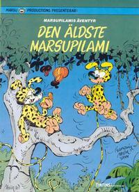Cover Thumbnail for Marsupilamis äventyr (Nordisk bok, 1988 series) #[281] - Den äldste Marsupilami