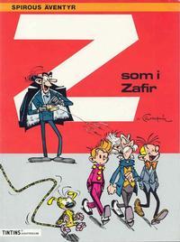Cover Thumbnail for Spirous äventyr (Nordisk bok, 1984 series) #T-088; [282] - Z som i Zafir