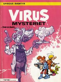 Cover Thumbnail for Spirous äventyr (Nordisk bok, 1984 series) #[294] - Virusmysteriet