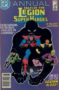 Cover Thumbnail for Tales of the Legion of Super-Heroes Annual (DC, 1986 series) #4 [Newsstand]