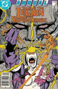 Cover Thumbnail for Tales of the Legion of Super-Heroes Annual (DC, 1986 series) #5 [Newsstand]