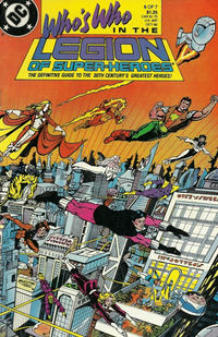 Cover Thumbnail for Who's Who in the Legion of Super-Heroes (DC, 1988 series) #6