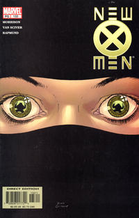 Cover for New X-Men (Marvel, 2001 series) #133 [Direct Edition]