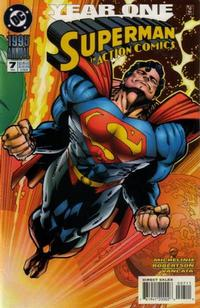 Cover for Action Comics Annual (DC, 1987 series) #7