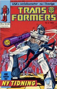 Cover Thumbnail for Transformers (Atlantic Förlags AB, 1987 series) #2/1987