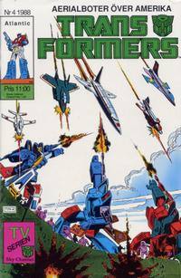 Cover Thumbnail for Transformers (Atlantic Förlags AB, 1987 series) #4/1988