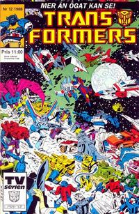 Cover Thumbnail for Transformers (Atlantic Förlags AB, 1987 series) #12/1988