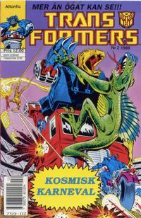 Cover Thumbnail for Transformers (Atlantic Förlags AB, 1987 series) #2/1989