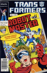 Cover Thumbnail for Transformers (Atlantic Förlags AB, 1987 series) #3/1989