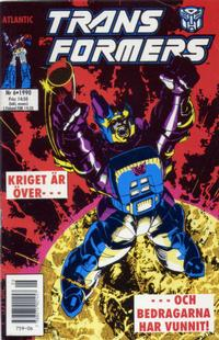 Cover Thumbnail for Transformers (Atlantic Förlags AB, 1987 series) #6/1990