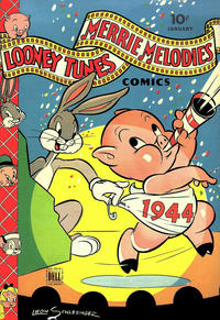 Cover Thumbnail for Looney Tunes and Merrie Melodies Comics (Dell, 1941 series) #27