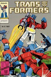 Cover Thumbnail for Transformers (Atlantic Förlags AB, 1987 series) #6/1987