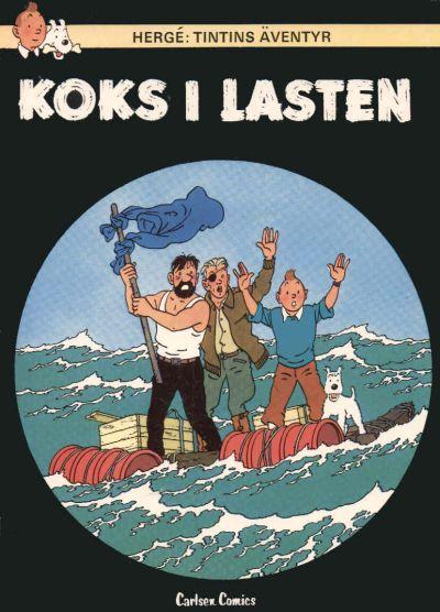 Cover for Tintins äventyr (Carlsen/if [SE], 1972 series) #13 - Koks i lasten