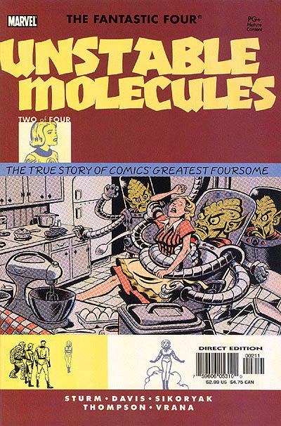 Cover for Startling Stories: Fantastic Four - Unstable Molecules (Marvel, 2003 series) #2