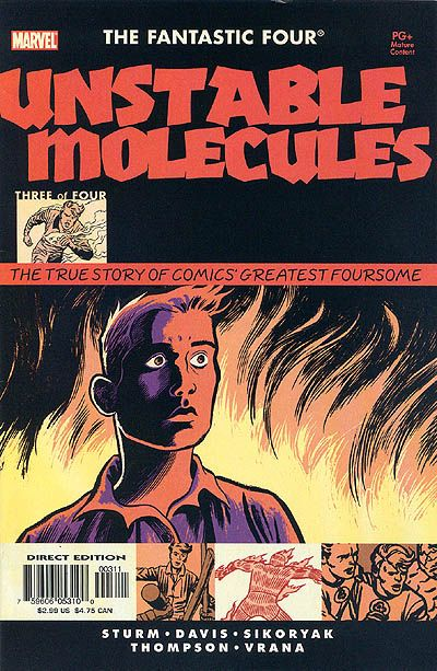Cover for Startling Stories: Fantastic Four - Unstable Molecules (Marvel, 2003 series) #3