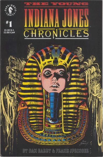 Cover for The Young Indiana Jones Chronicles (Dark Horse, 1992 series) #1