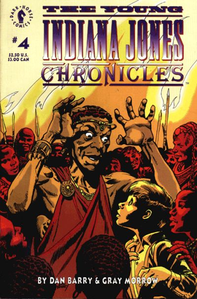 Cover for The Young Indiana Jones Chronicles (Dark Horse, 1992 series) #4