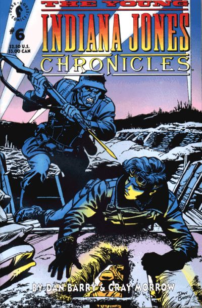 Cover for The Young Indiana Jones Chronicles (Dark Horse, 1992 series) #6