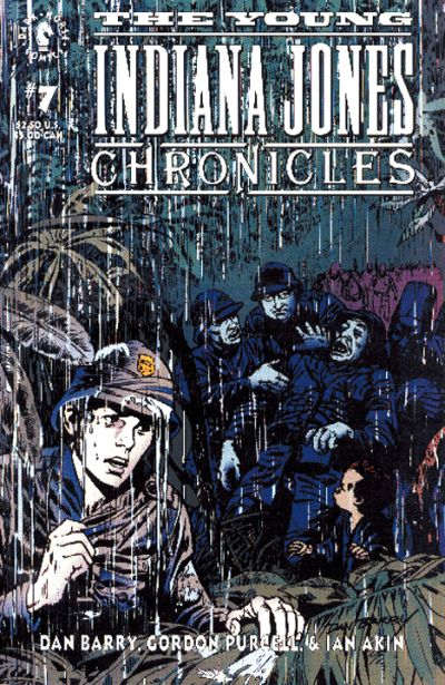 Cover for The Young Indiana Jones Chronicles (Dark Horse, 1992 series) #7