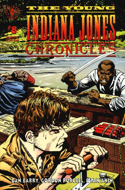 Cover for The Young Indiana Jones Chronicles (Dark Horse, 1992 series) #8