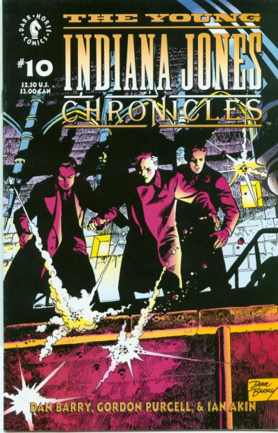 Cover for The Young Indiana Jones Chronicles (Dark Horse, 1992 series) #10