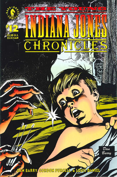 Cover for The Young Indiana Jones Chronicles (Dark Horse, 1992 series) #12