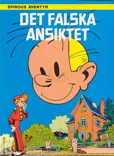 Cover for Spirous äventyr (Nordisk bok, 1984 series) #[249] - Det falska ansiktet
