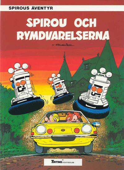 Cover for Spirous äventyr (Nordisk bok, 1984 series) #T-067 [254] - Spirou och rymdvarelserna