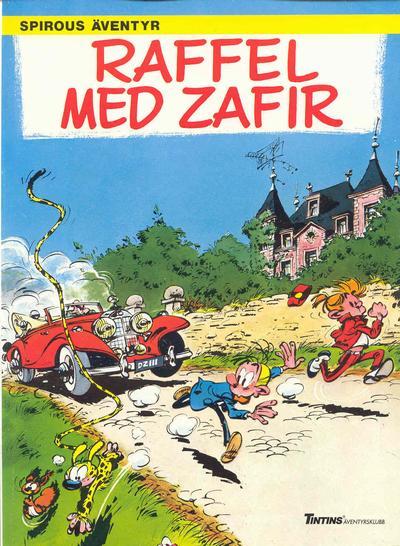 Cover for Spirous äventyr (Nordisk bok, 1984 series) #T-071 [257] - Raffel med Zafir