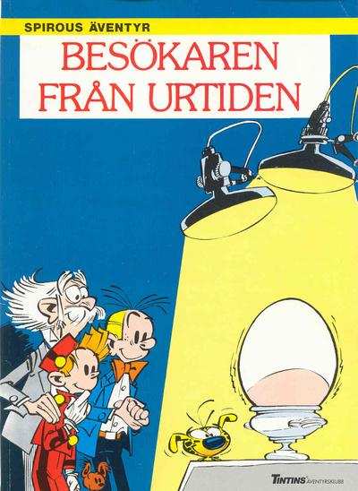 Cover for Spirous äventyr (Nordisk bok, 1984 series) #T-076 [267] - Besökaren från urtiden