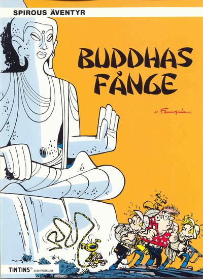 Cover for Spirous äventyr (Nordisk bok, 1984 series) #T-080 [271] - Buddhas fånge
