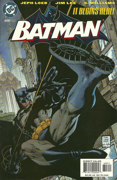 Cover for Batman (DC, 1940 series) #608 [New York Post Exclusive]