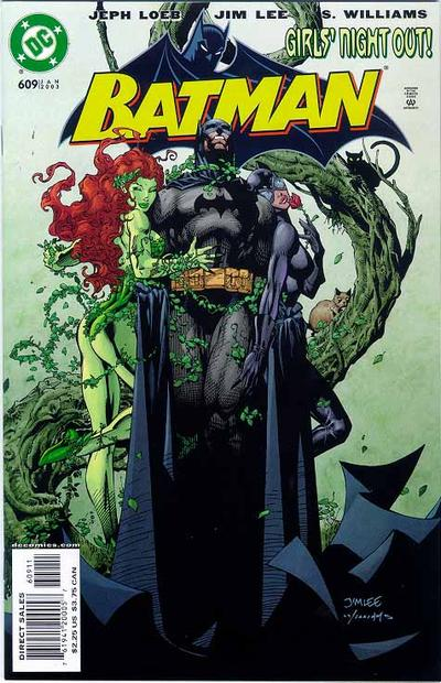 Cover for Batman (DC, 1940 series) #609 [Direct]