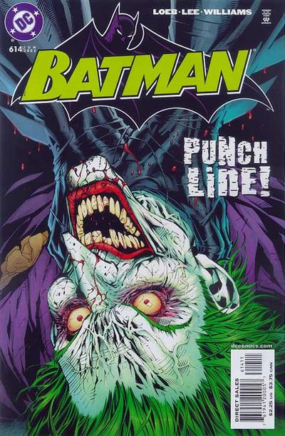 Cover for Batman (DC, 1940 series) #614