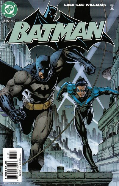 Cover for Batman (DC, 1940 series) #615
