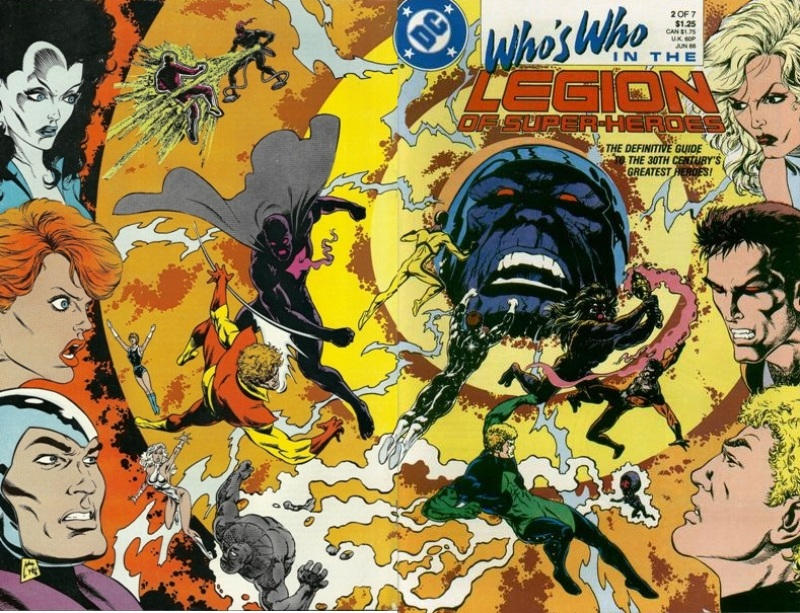 Cover for Who's Who in the Legion of Super-Heroes (DC, 1988 series) #2