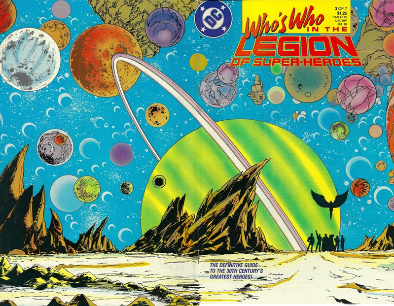 Cover for Who's Who in the Legion of Super-Heroes (DC, 1988 series) #3