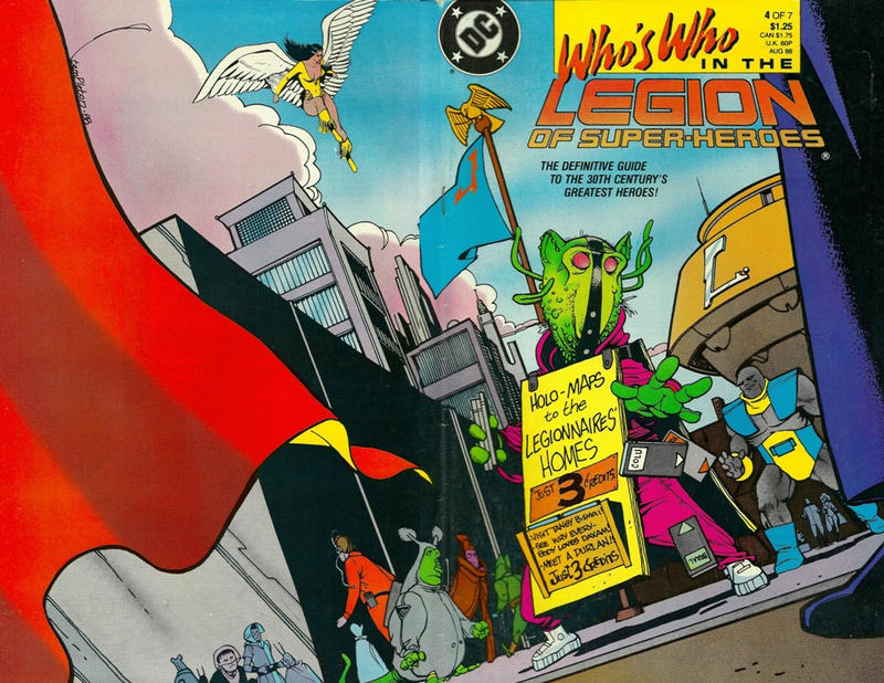 Cover for Who's Who in the Legion of Super-Heroes (DC, 1988 series) #4