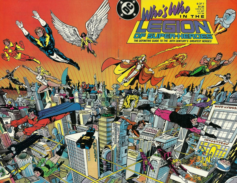 Cover for Who's Who in the Legion of Super-Heroes (DC, 1988 series) #6