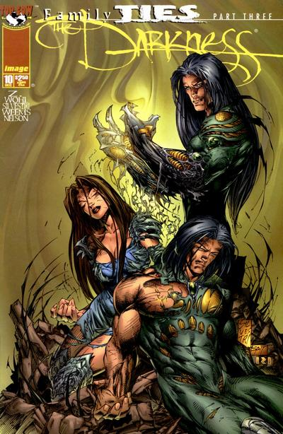 Cover for The Darkness (Image, 1996 series) #10