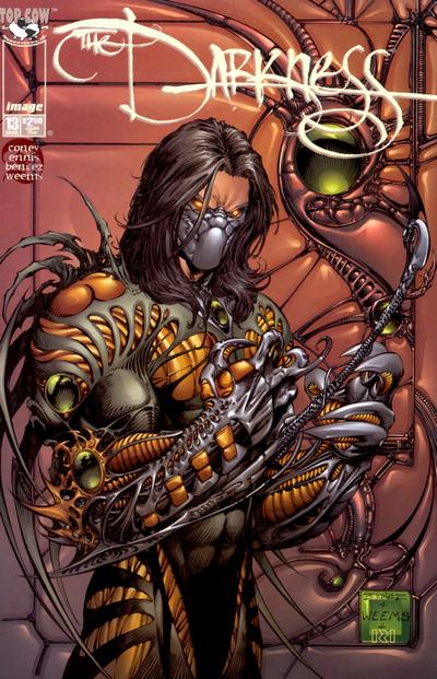 Cover for The Darkness (Image, 1996 series) #13
