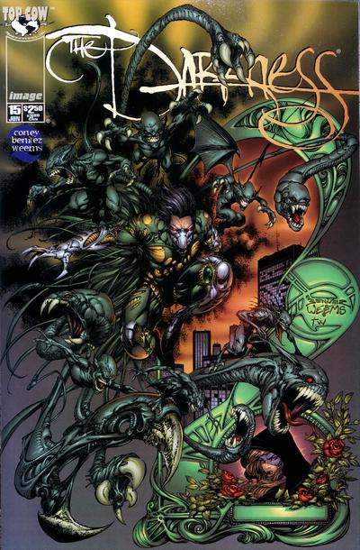 Cover for The Darkness (Image, 1996 series) #15