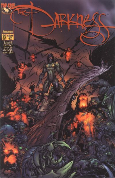 Cover for The Darkness (Image, 1996 series) #25 [Silvestri Variant]