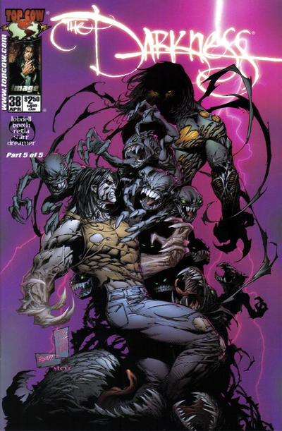 Cover for The Darkness (Image, 1996 series) #38