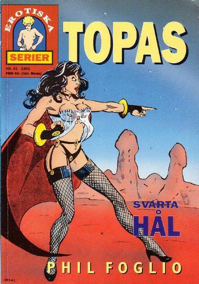 Cover for Topas (Epix, 1988 series) #41 - Svarta hål