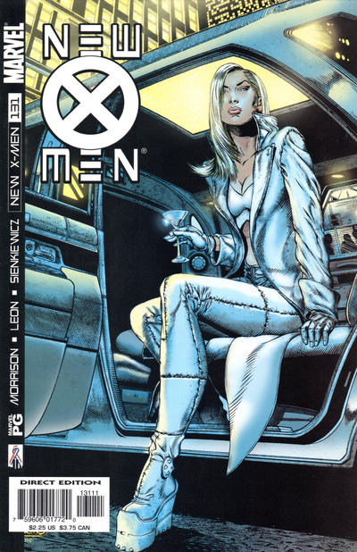 Cover for New X-Men (Marvel, 2001 series) #131 [Direct Edition]