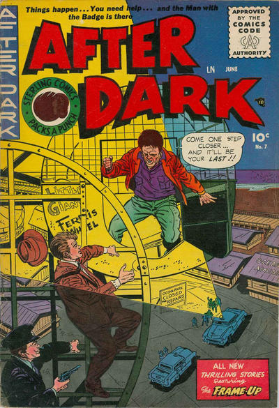 Cover for After Dark (Sterling, 1955 series) #7